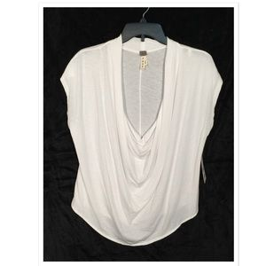 Free People We The Free Cowl Tee New With Tags